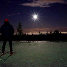 Måneskinnstur på Klekkefjellet
