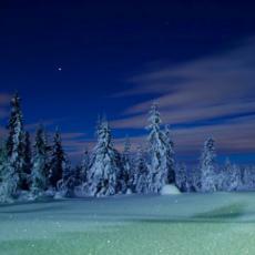 Måneskinnstur til Klekkefjellet