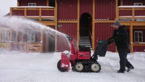 Snøfresing