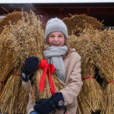 Julemarked på Budor 30. november