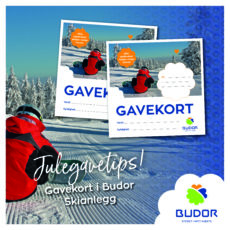 Julegavetips – kjøp gavekort i Budor Skianlegg