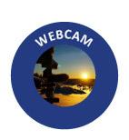 Webcam og værstasjon