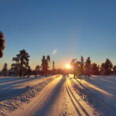 Turtips på ski: Den nye skiløypa